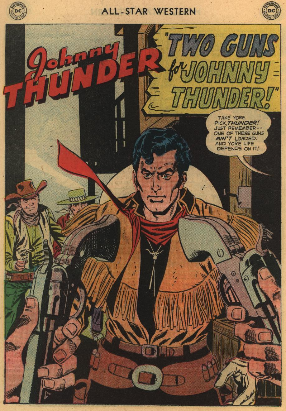 Read online All-Star Western (1951) comic -  Issue #100 - 26