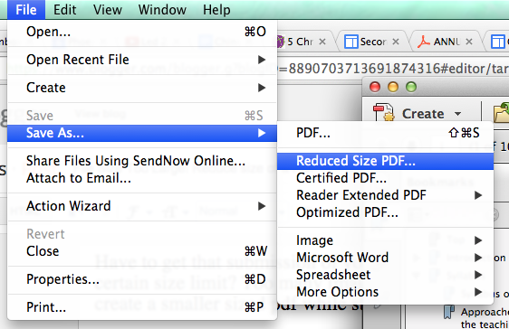 File Size Too Large! Reduce size of a PDF   Tech Tips