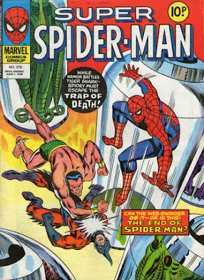 Super Spider-Man #278, Namor vs Tiger Shark