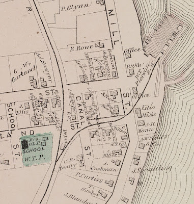 Detail map of West Great Works Village