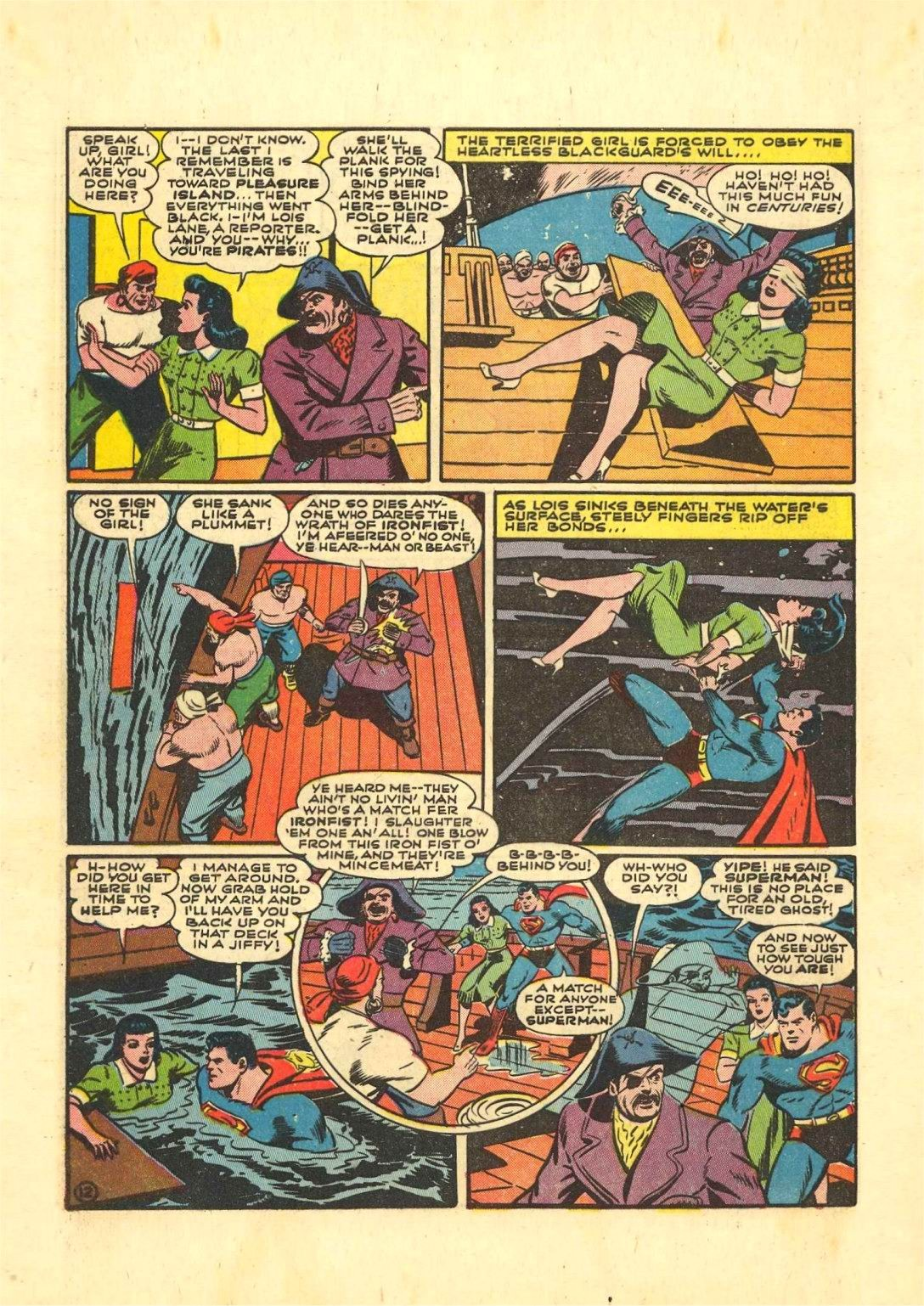 Read online Action Comics (1938) comic -  Issue #54 - 13