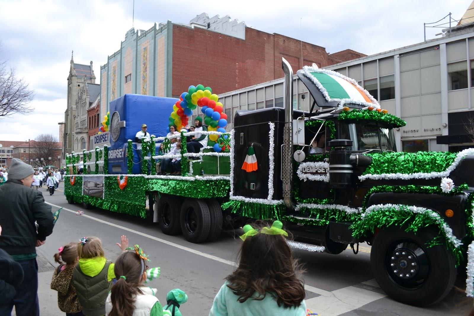 Парад ко дню Святого Патрика, Скрентон, Пенсильвания (St. Patrick's Day Parade, Scranton, PA)