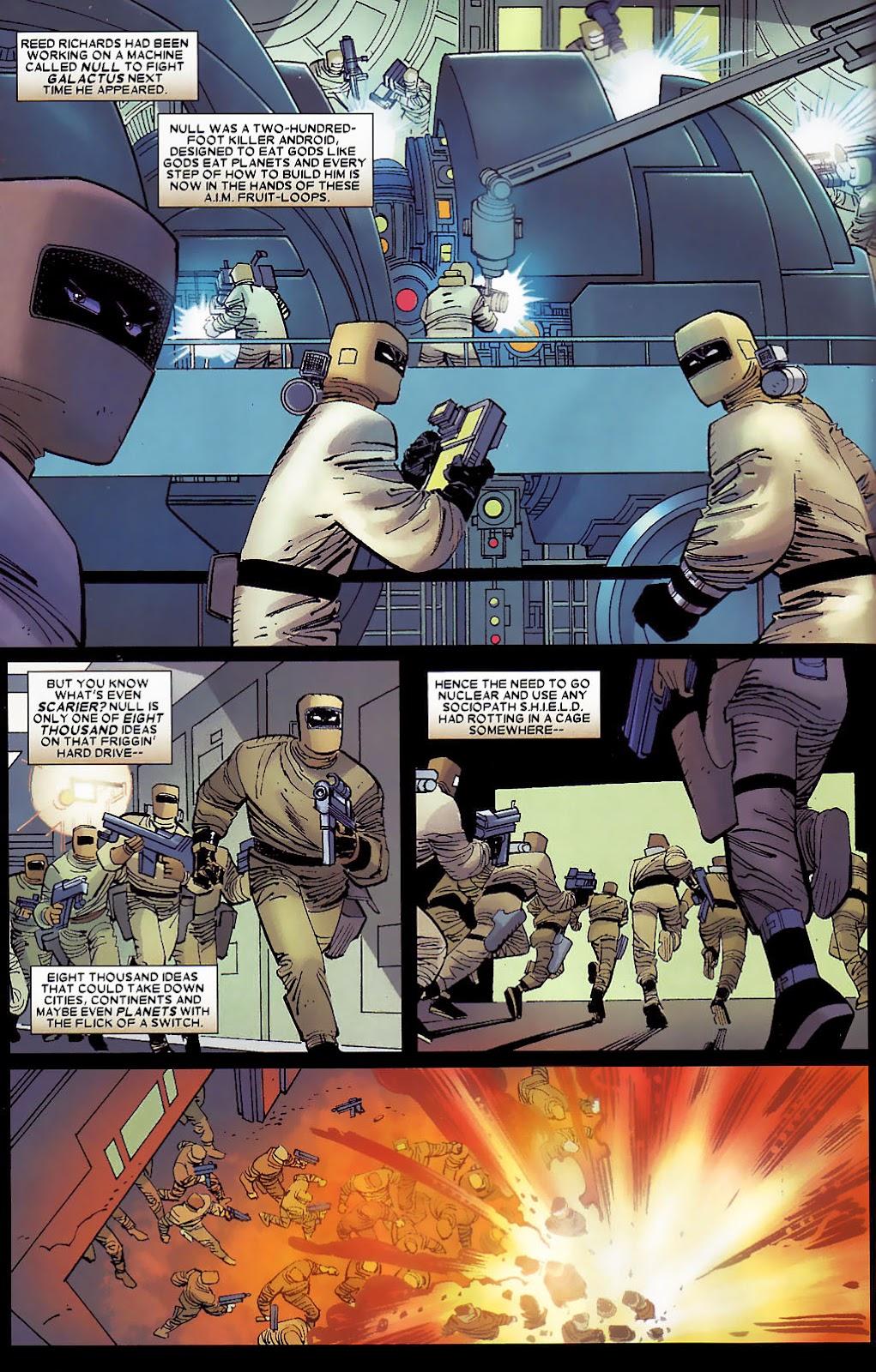 Read online Wolverine (2003) comic -  Issue #30 - 10