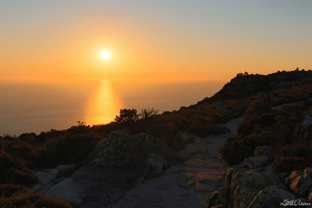 Cape Town - Table Mountain - Sunset