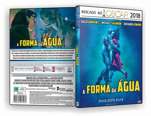 DVD – A Forma da Água – AUTORADO