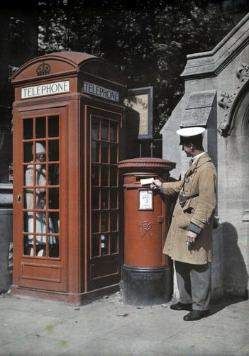 Old England in Color Photos from 1928  vintage everyday