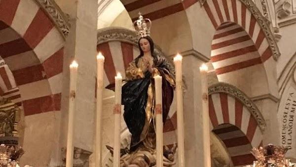 Los jóvenes de Córdoba volverán a orar ante la Inmaculada Concepción