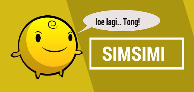 SimSimi Aplikasi Android Untuk Menemani Kamu Disaat Kesepian