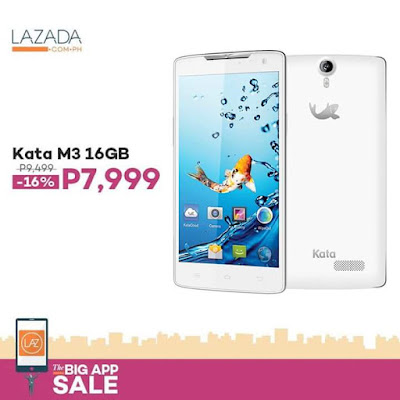 Kata M3 White now available on Lazada