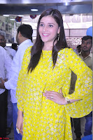 Mannara Chopra Looks Cute in Yellow Salwar Suit ~  Exclusive 33.JPG