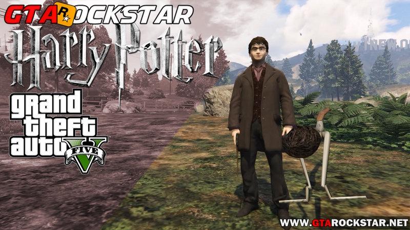 GTA V - Mod Harry Potter for GTA V PC