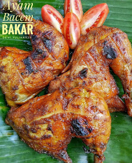 Ide Resep Masak Ayam Bacem Bakar