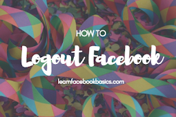How Can I Logout of My Account On Facebook?