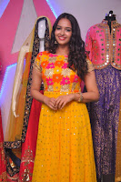 Pujitha in Yellow Ethnic Salawr Suit Stunning Beauty Darshakudu Movie actress Pujitha at a saree store Launch ~ Celebrities Galleries 039.jpg