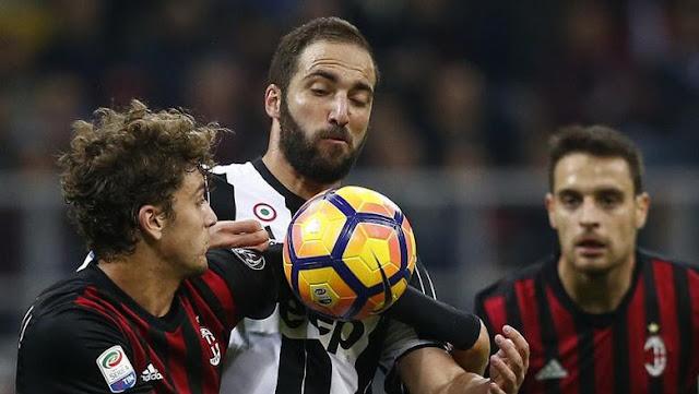 Montella: Juventus Bukan Cuma Higuain