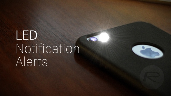 led flash for alerts iphone 6 plus