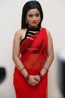 Aasma Syed in Red Saree Sleeveless Black Choli Spicy Pics ~  Exclusive Celebrities Galleries 051.jpg
