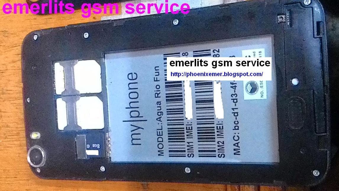 MyPhone Agua RIO Fun Firmware ROM - Emerlits Gsm Service