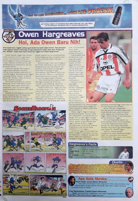 RISING STAR: OWEN HARGREAVES