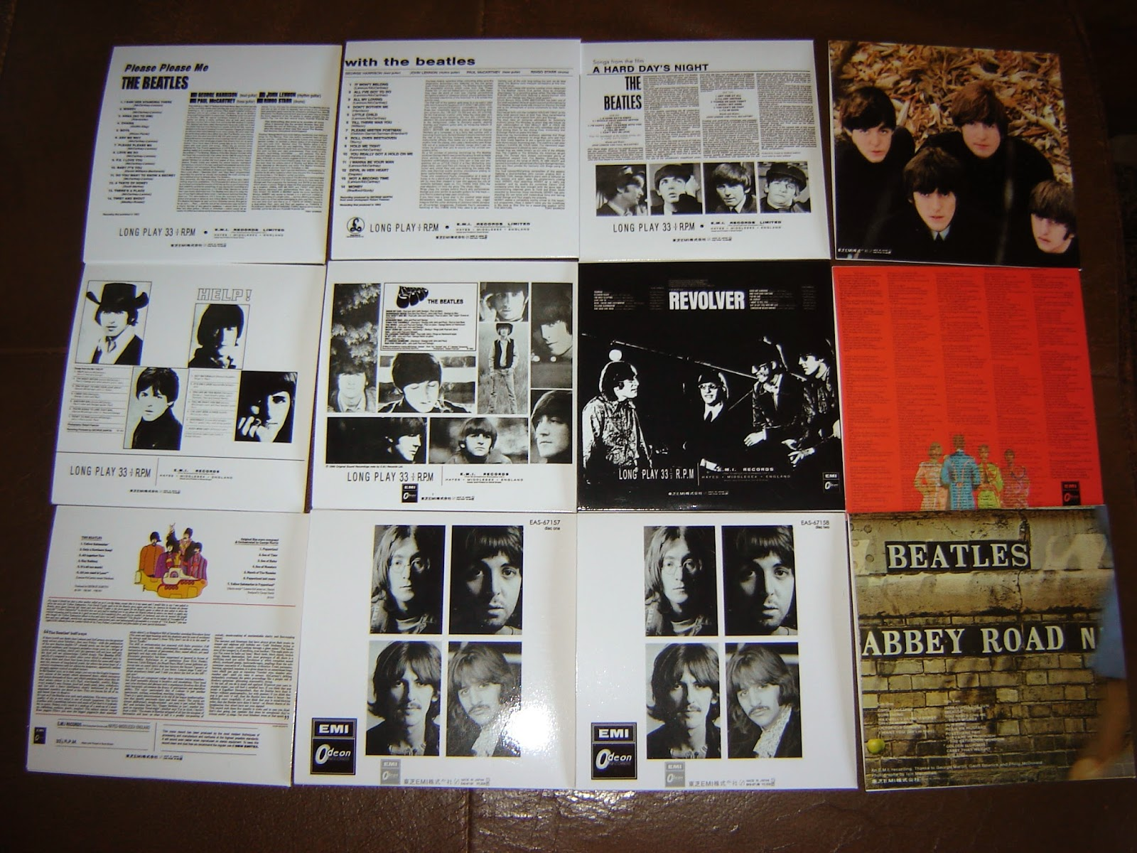 Beatle Collector The Beatles Japanese Archives Red Wax Dr