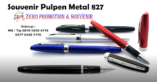 Pen 827, PULPEN SEMINAR 827, Barang Promosi Pulpen Metal 827
