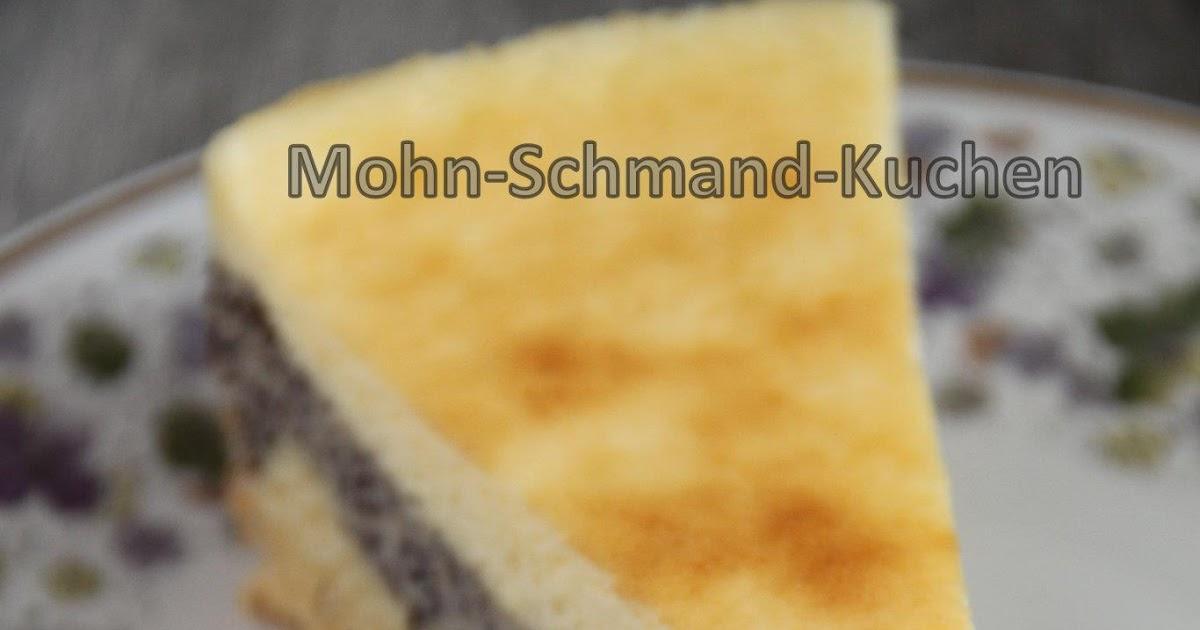 Zuckerkucheneule Mohn Schmand Kuchen