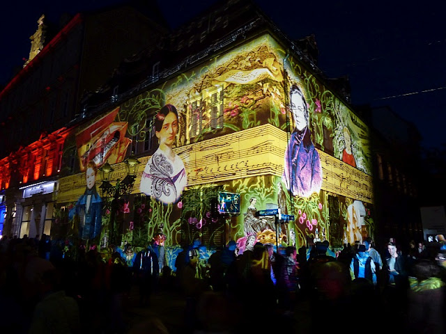 Zwickau, 900 Jahrfeier, Lichtershow