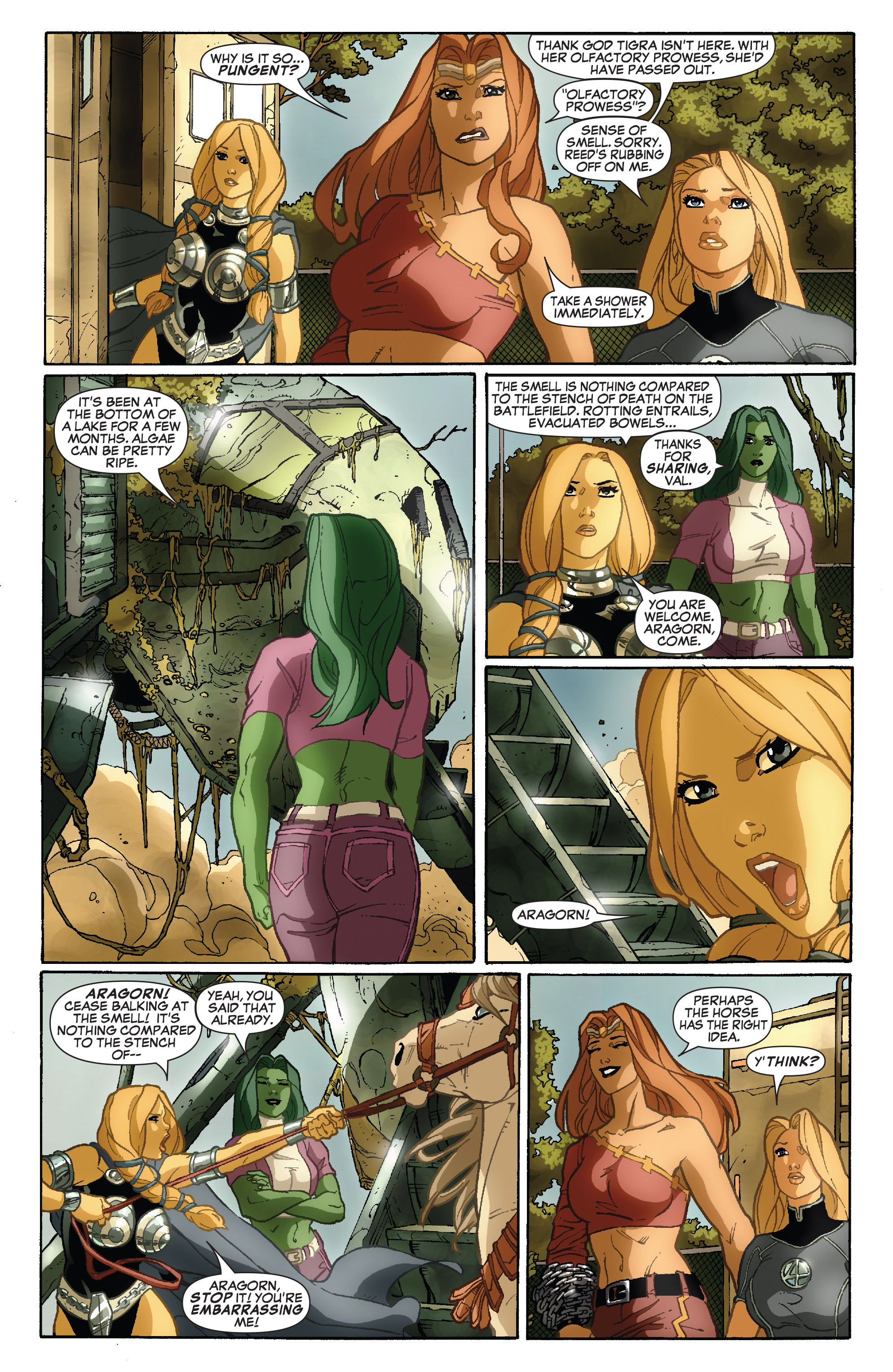 Read online She-Hulk (2005) comic -  Issue #34 - 17