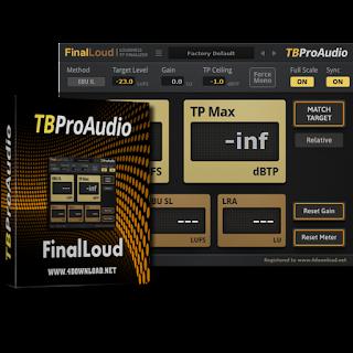 TBProAudio - FinalLoud Full version