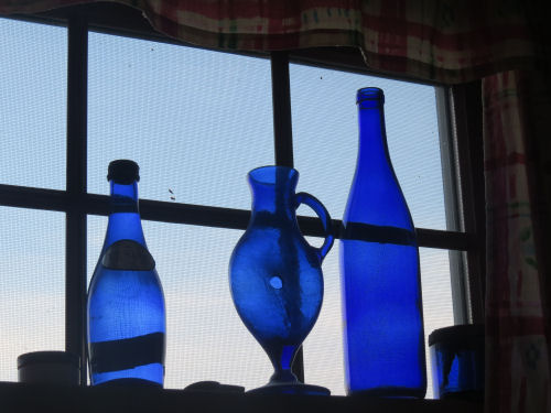 blue glass