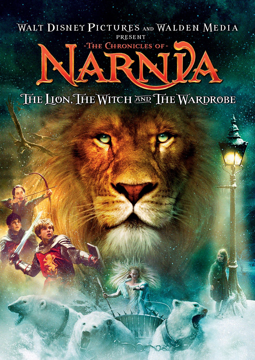 The Chronicles of Narnia: The Lion, The Witch and the Wardrobe [2005] [DVDR] [NTSC] [Latino]