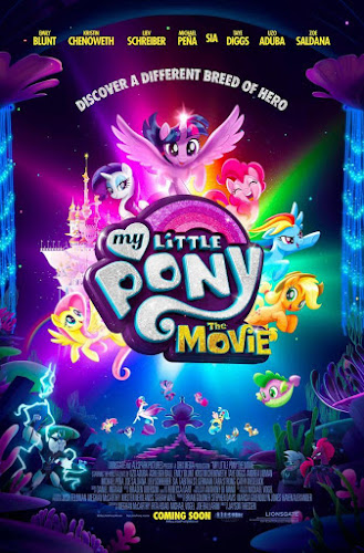 My Little Pony: The Movie (BRRip 720p Español Latino) (2017)