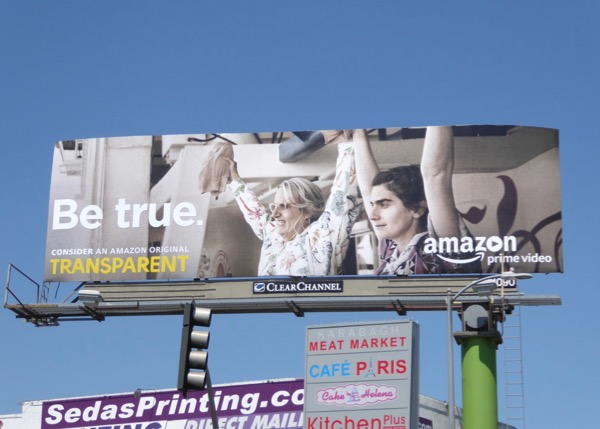 Transparent 2017 Be True Emmy FYC billboard
