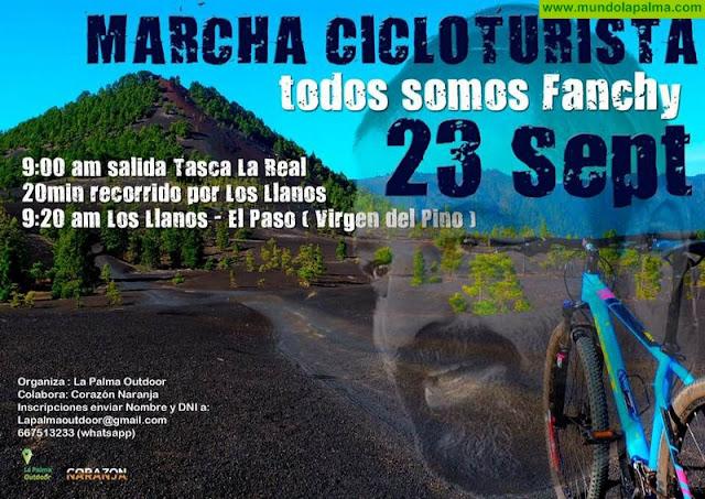 """Marcha Cicloturista: """"Todos somos Fanchy"""""""