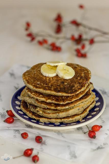 Wegańskie pankejki Zdrowe śniadanie