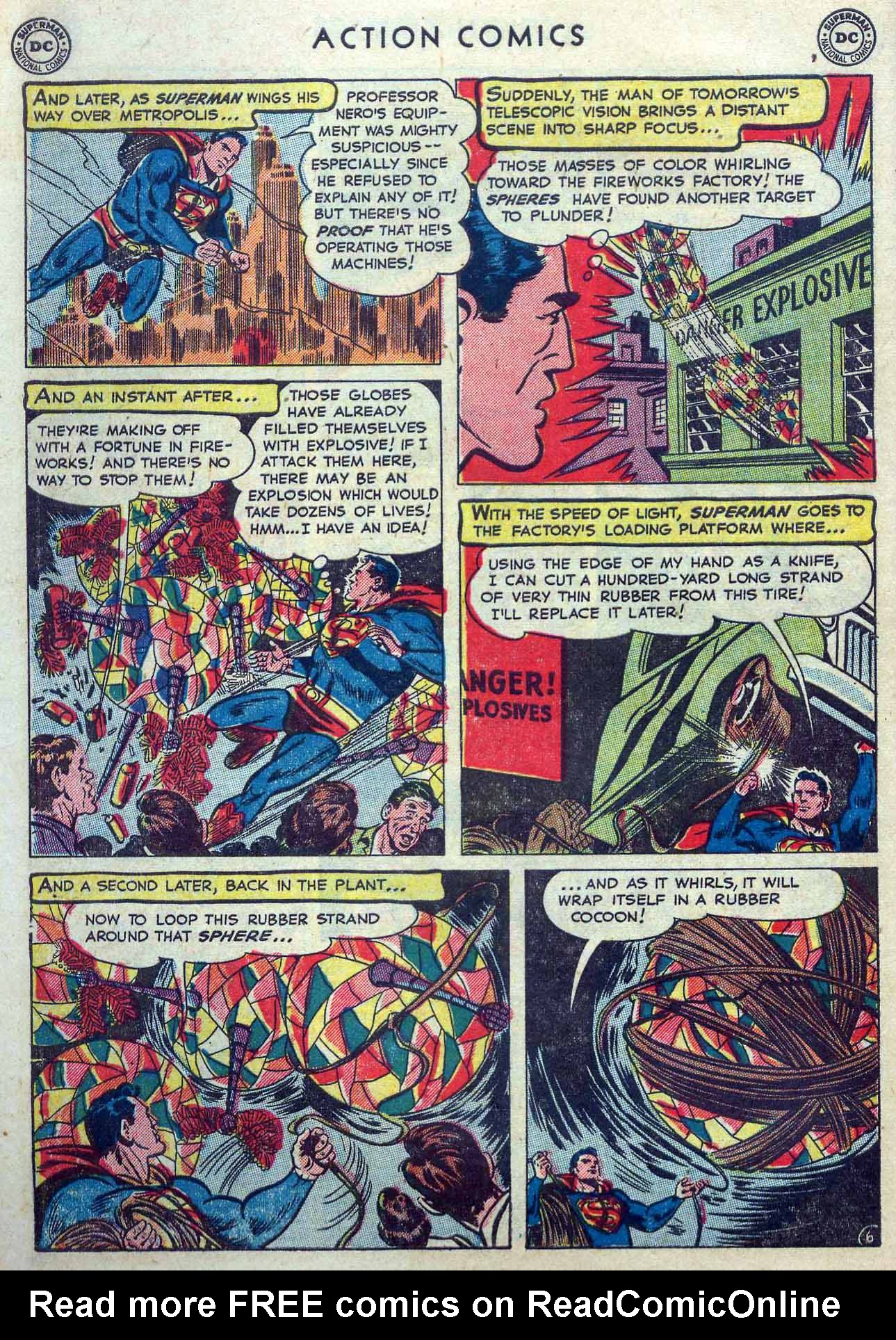 Read online Action Comics (1938) comic -  Issue #167 - 8