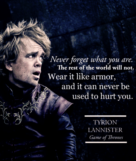why tyrion lannister is the most unique character ever