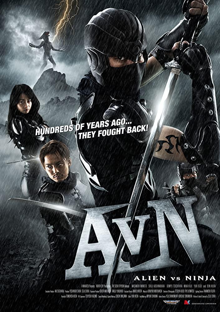 Alien vs Ninja 2010 Hindi Dual Audio 300MB HDRip Download