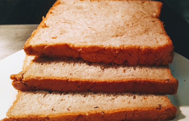 3 Brown Bread slice Food recipe