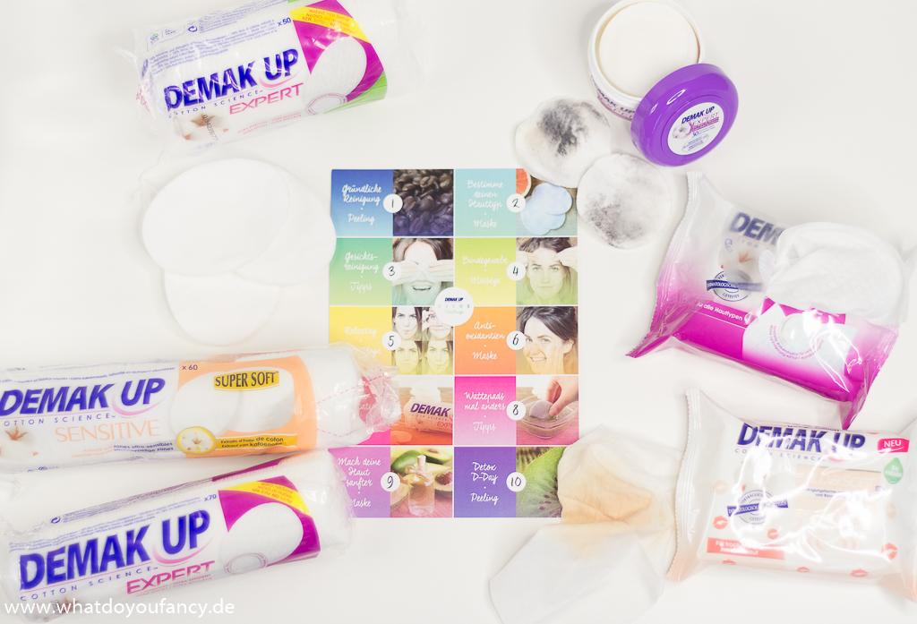 Demak'Up Detox Challenge Richtig Abschminken