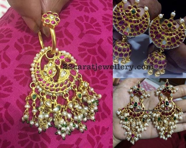 Hoops and Jhumkas