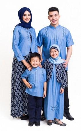 34+ Koleksi Baju Muslim Keluarga 2018 Modern Terbaru