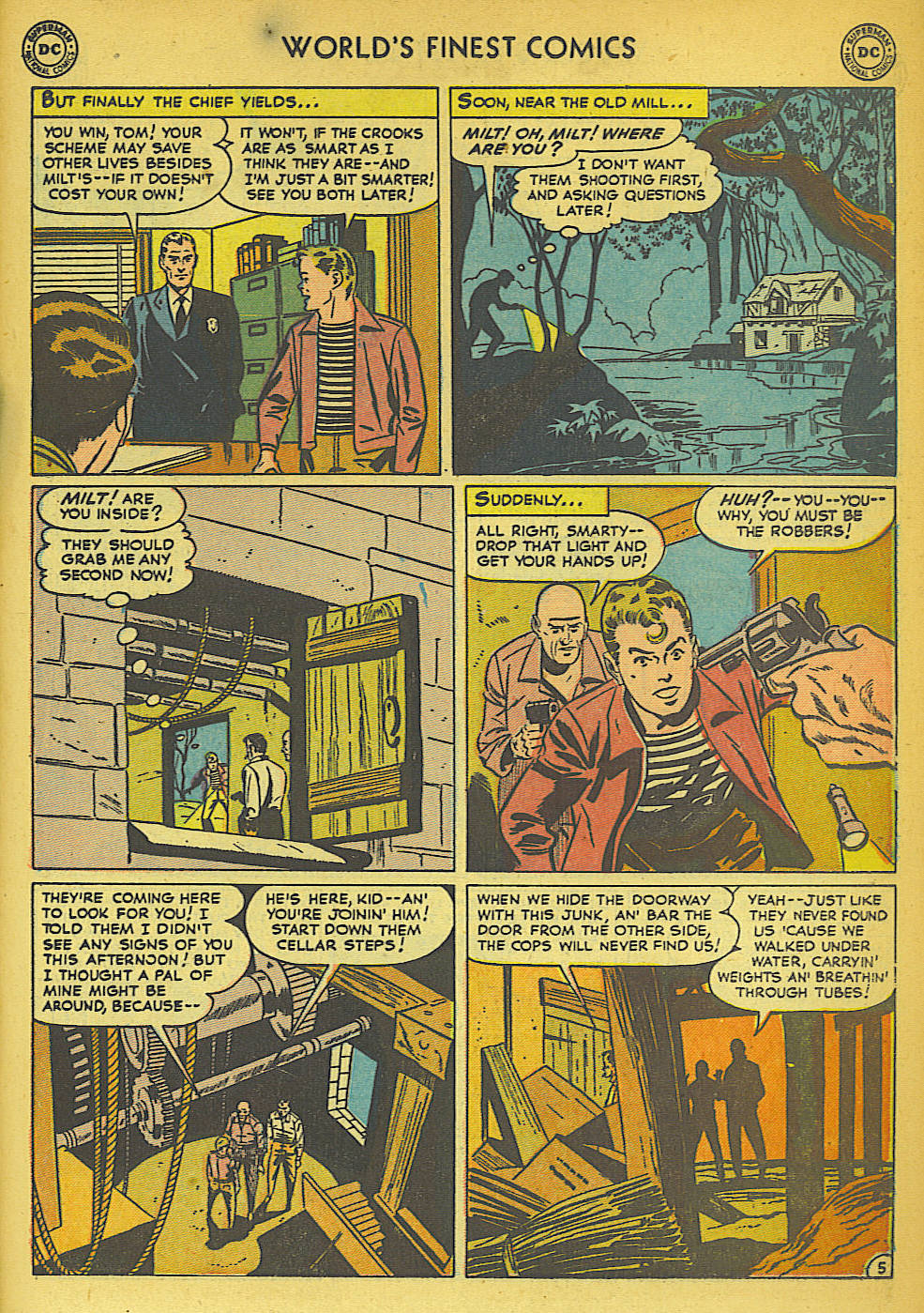 Read online World's Finest Comics comic -  Issue #57 - 45