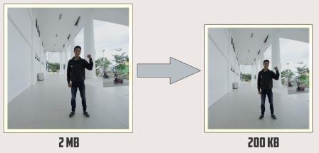 Cara mudah dan cepat Mengecilkan Ukuran Foto Secara Offline