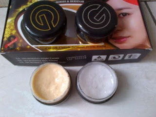 Cream Bio Gold Whitening BPOM