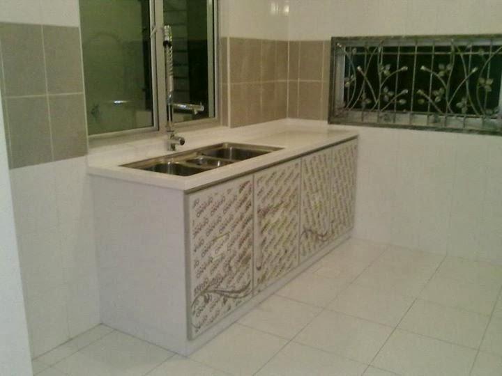 Kabinet Sinki Ni Buat Dengan Diy Home Interior Design Kedai Kat Skudai Indah Dekat2 Mutiara Rini