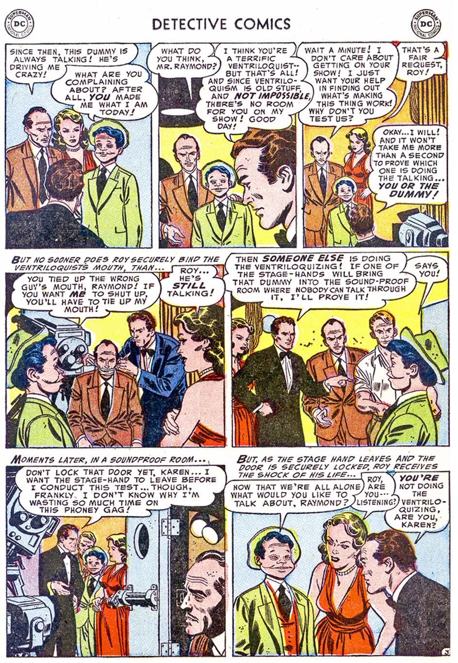 Detective Comics (1937) 202 Page 18