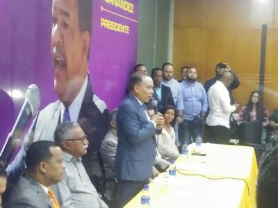 Radhames Jiménez afirma consolidan esfuerzos concentrados en favor candidatura presidencial Leonel Fernández