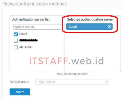 Firewall Authentication Services - ITSTAFF.web.id