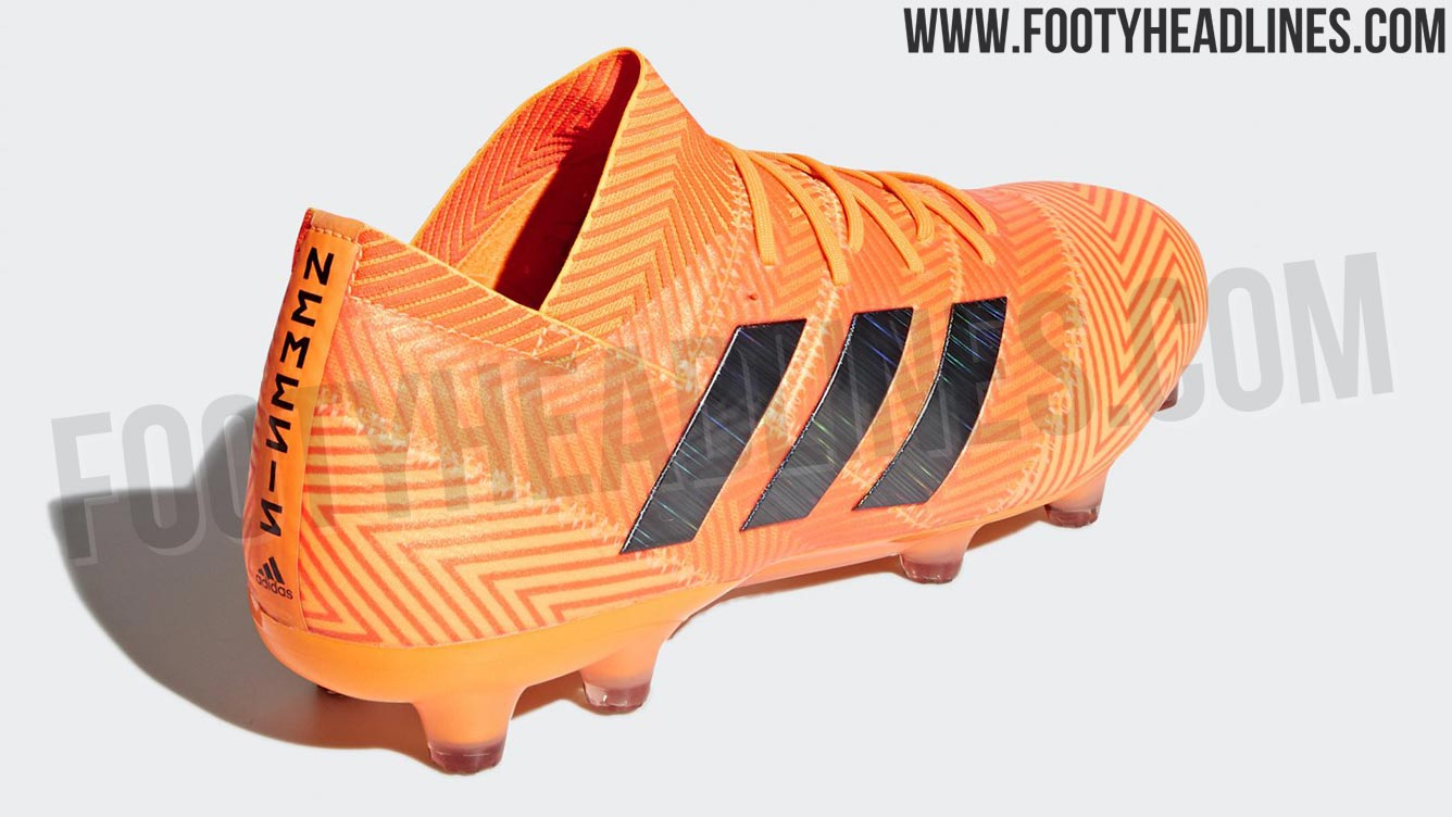 a8a7d816a7de Do you like the orange and red Adidas Nemeziz 18 World Cup edition, part of  the Energy Mode pack? Comment below, and check out the Boot Calendar for  all ...